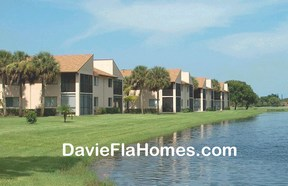 The Gardens condos at Pine Island Ridge in Davie Florida